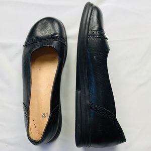 Footprints Birkenstock Mary Janes Black Leather 41